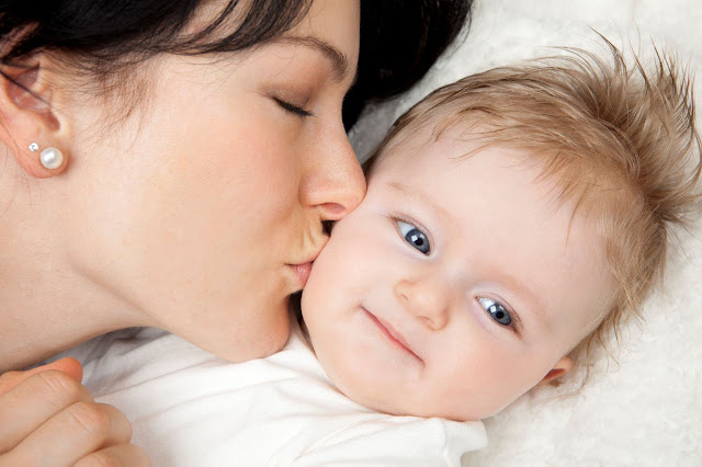 Mother Kissing Baby HD Wallpapers Free Download
