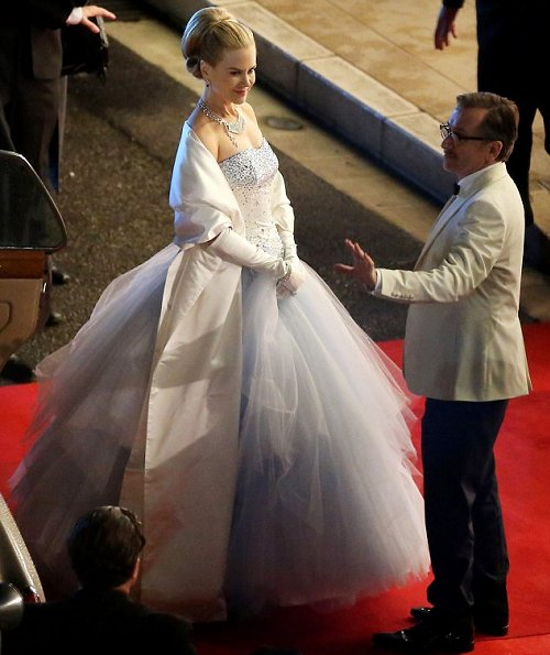 Actress Nicole Kidman felt like a real-life princess as she transformed into Grace Kelly for filming in Monte Carlo. Dripping in diamonds,Grace of Monaco