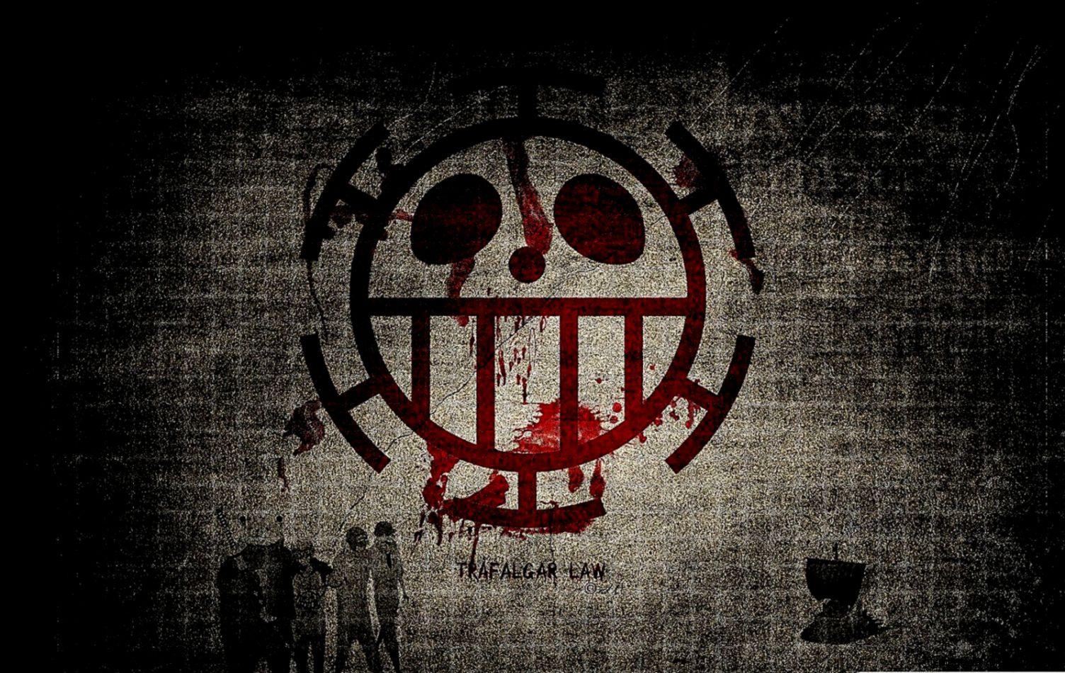 Logos Trafalgar Law One Piece Pirate Logo Hd Wallpapers ...