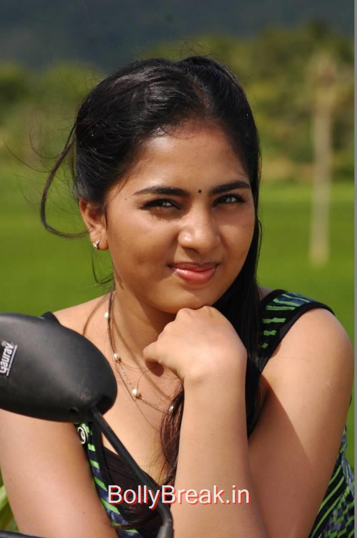 Srushti Dange Photo Gallery, Srushti Dange Hot Pics From Puriyatha Anantham Puthithaga Aarambam Movie