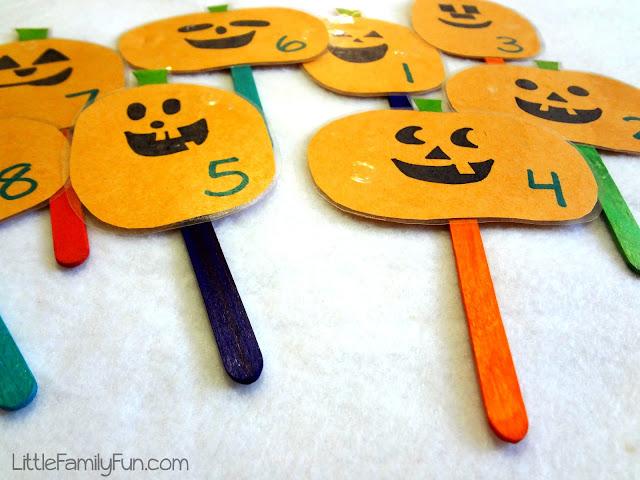 Pumpkin Puppets Halloween Activity For Kids