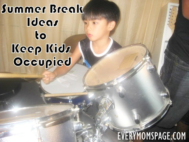 Summer Break Ideas to Keep Kids Occupied