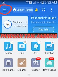 Cara Menghapus File Sampah Android Yang Tersembunyi