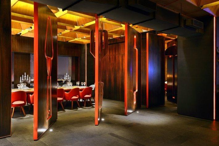 nhà hàng quán ăn thiết kế độc 4