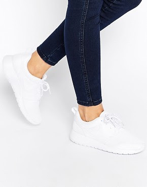 Nike Roshe run white trainer, $118.60 from ASOS