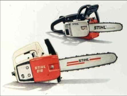 Stihl 015 Av Chainsaw manual