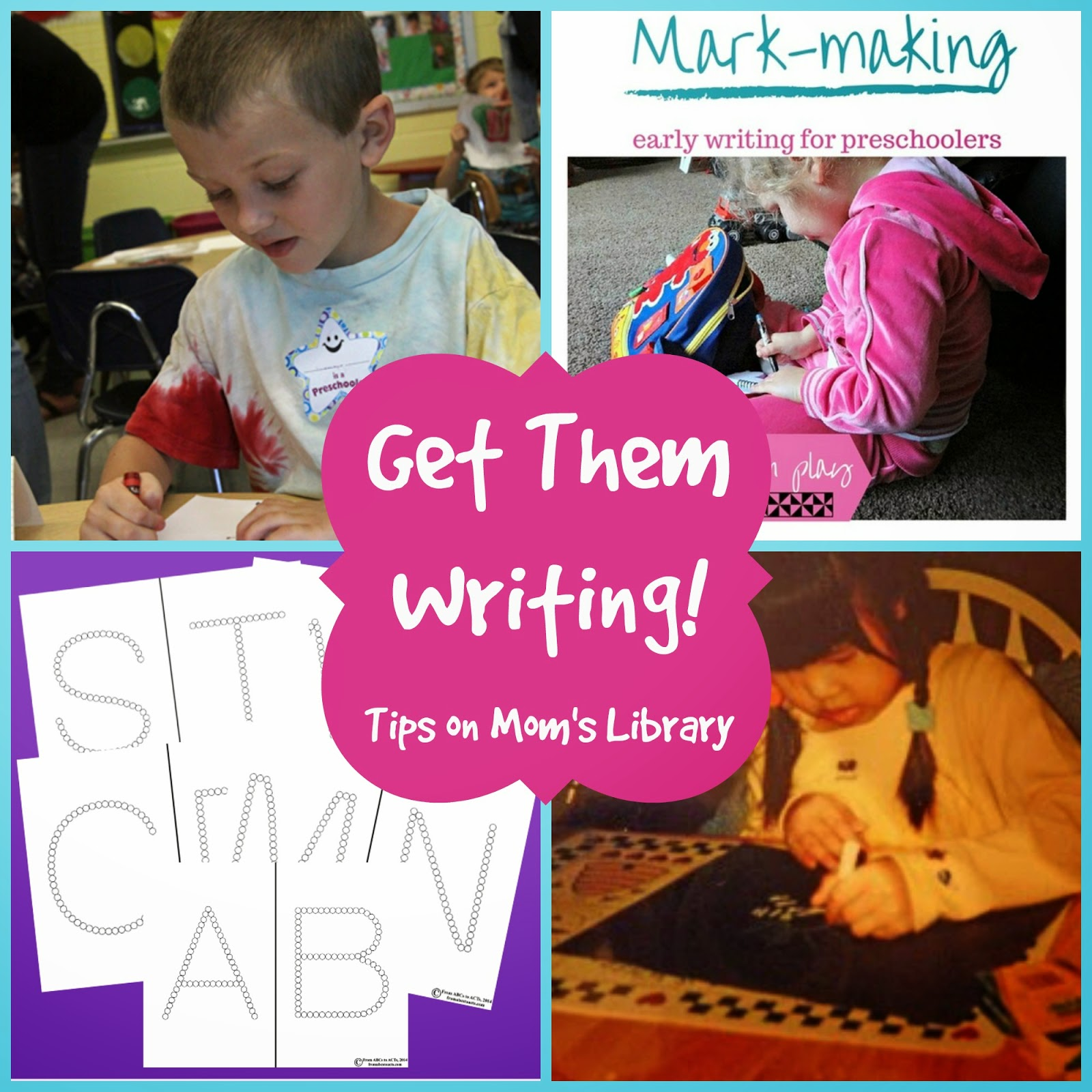 Get Them Writing with Tips from Mom's Library