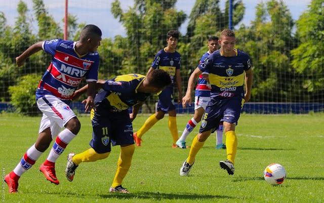 Campeonato Cearense Sub/20 – Pacatuba heroicamente empata com o Fortaleza em 1 a 1