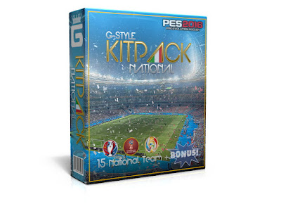 PES 2016 New KitPack National AIO Update v2.1 by G-Style