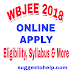 WBJEE 2018 : Application form, Exam Dates, Eligibility Criteria, Counselling & More
