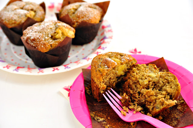 Banana whole wheat Muffin