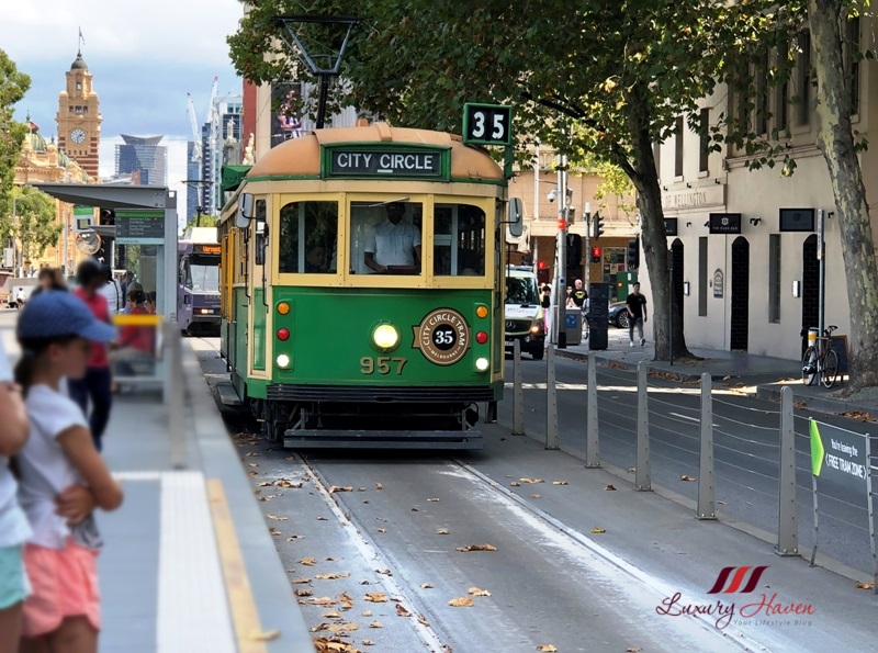 melbourne free city circle tram guide