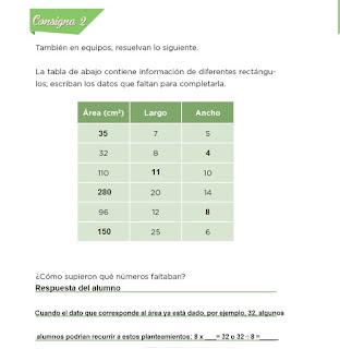 Respuestas Apoyo Primaria Desafíos Matemáticos 4to. Grado Bloque IV Lección 85 Superficies rectangulares