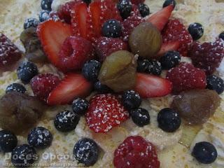 tarte merengada castanhas frutos silvestres bragança