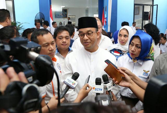 Anies Senang Program Andalannya Ditiru Pemerintah Jokowi