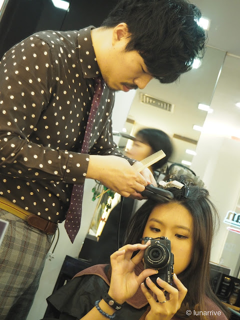 Volume Rebonding Review with The Scene at Raffles City Lunarrive Singapore Lifestyle Blog