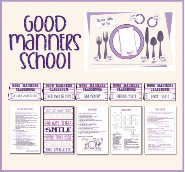 Watch more like Good Manners Activities
