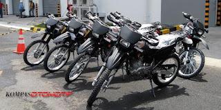Diam-diam kepolisian akan ganti motor dinas KLX dengan Suzuki DS 200 S