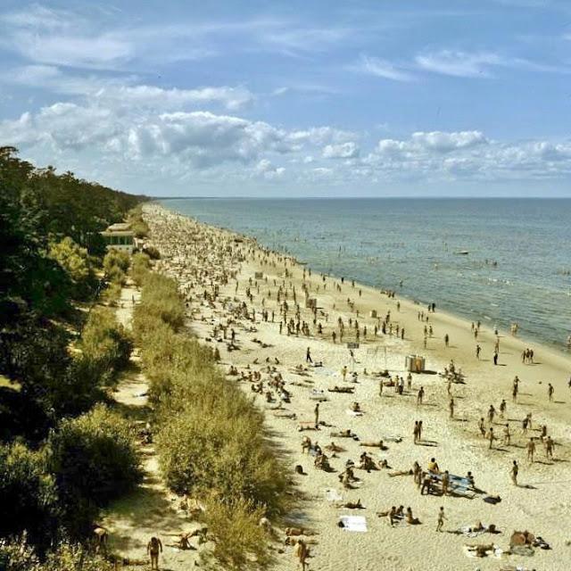 1983 год. Советская Юрмала. На побережье Рижского залива