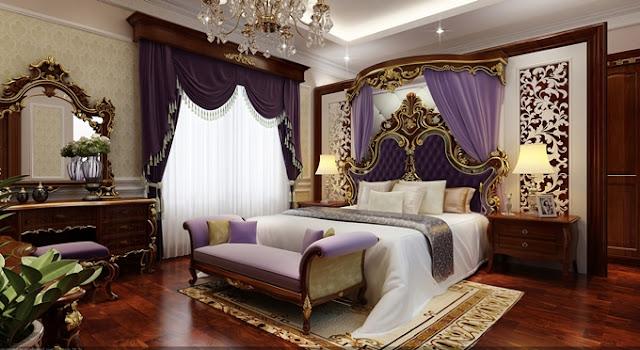 Thiết kế phòng ngủ căn hộ King Palace