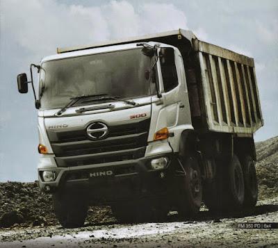 truk hino ranger fm 350 pd