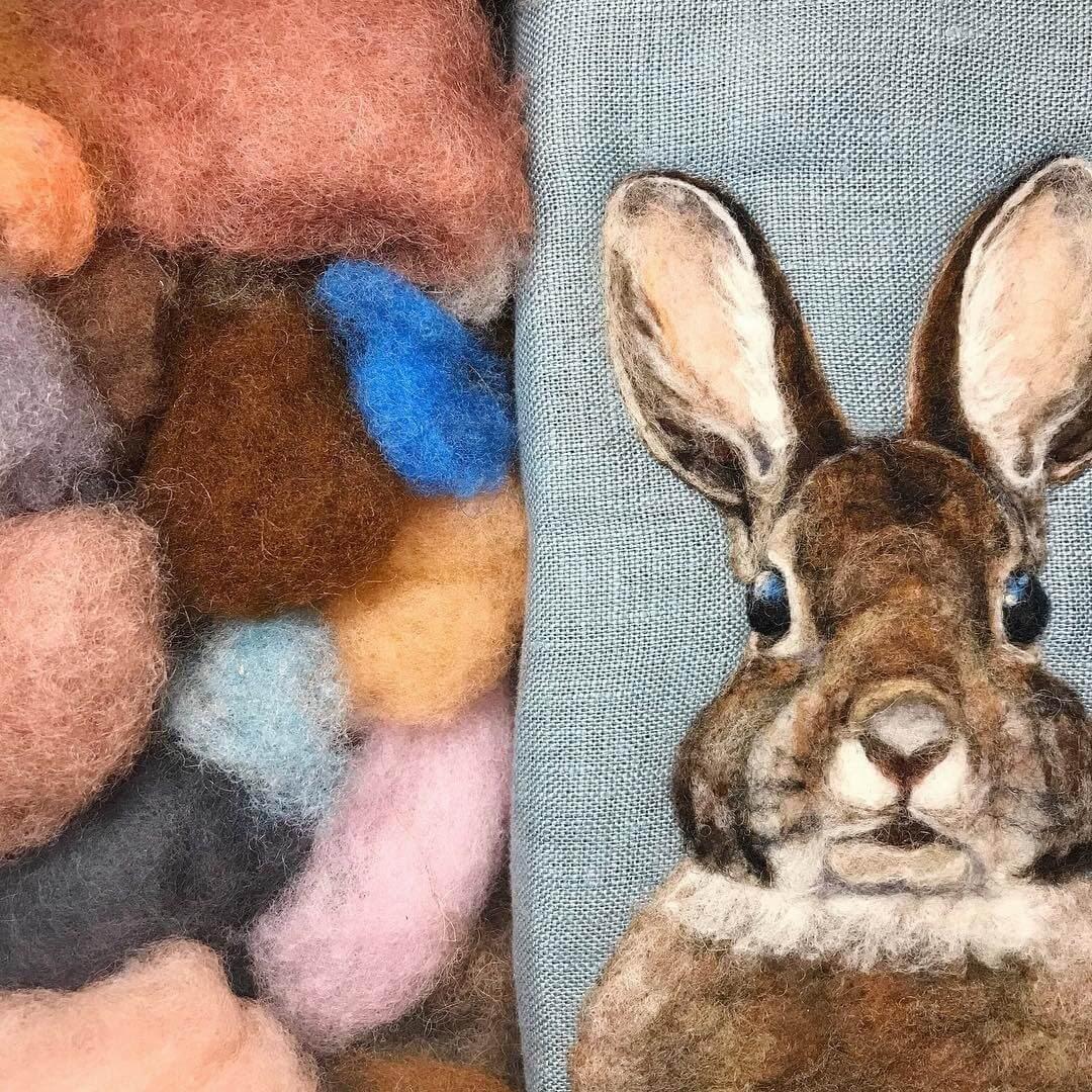 11-Rabbit-Dani-Ives-Needle-felting-Wool-and-Needle-Animal-Portraits-www-designstack-co