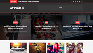 Astonish Blogger Template