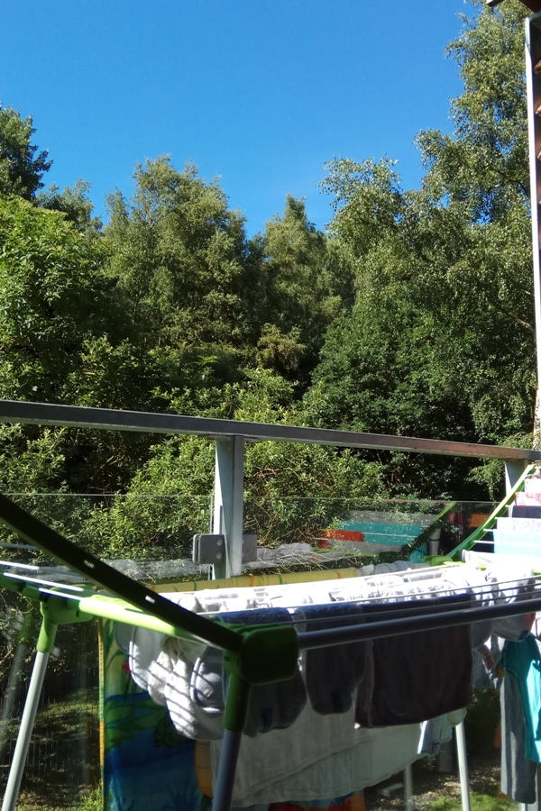 Apartament polanki - balkon - suszenie prania