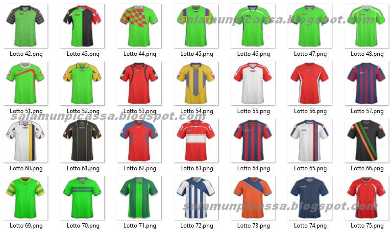 MockUp Jersey Futsal Lotto