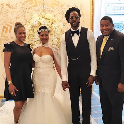 2 Chainz Marries Longtime Love Kesha Ward in Star-Studded Miami Wedding