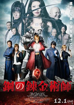 Fullmetal Alchemist ganha novo poster da adaptação em live-action