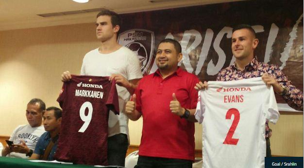 Pemain asing baru PSM Markkanen Evans
