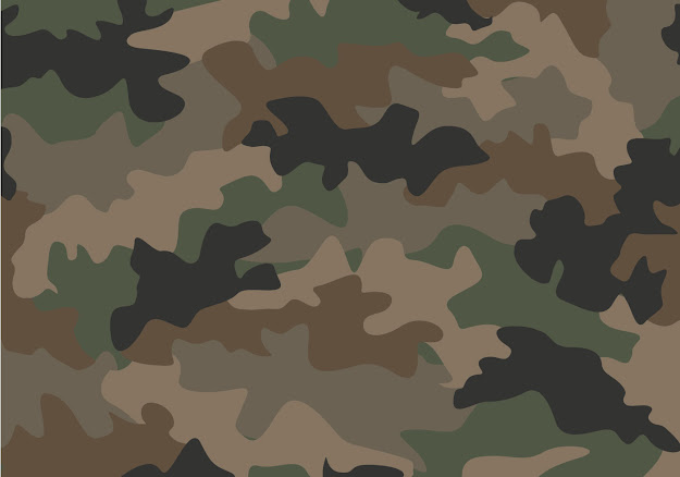 Free Camouflage Seamless Vector