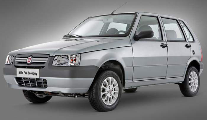 Fiat Uno Mille Economy 2011 é campeão de consumo de combustível Fiat Uno Portas Em Recife on