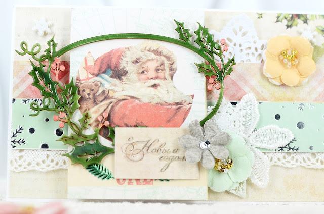 @veda_bakalova #скрапбукинг #ведабакалова #новогодняяоткрытка #новыйгод #открытка