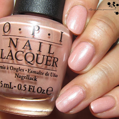 nail polish swatch of humidi-tea by opi