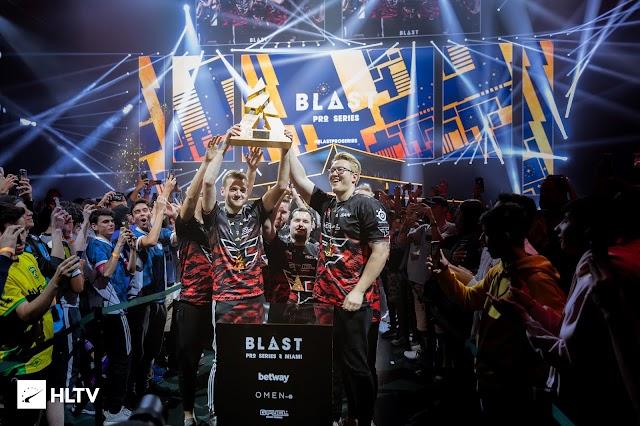 FaZe Menangkan Blast Pro Series Miami 2019, Astralis Dibantai