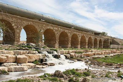 Israel in photos: Turkish Railway Bridge (Beersheba)
