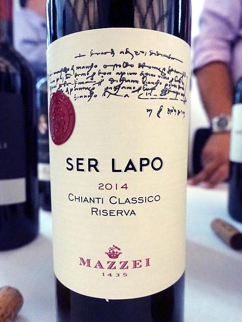 Mazzei Ser Lapo Riserva Chianti Classico 2014 (90 pts)