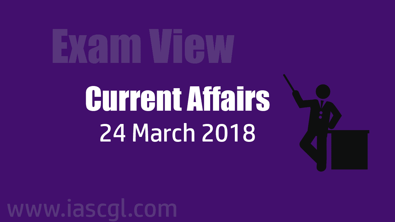 Current Affair 24 march 2018
