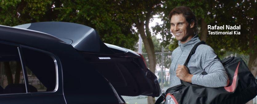 Nadal nello spot Kia Sportage, con il papà supereroe - Novembre 2016