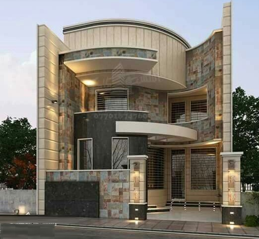 Modern House Front Designs: 50 Exterior Wall Decoration