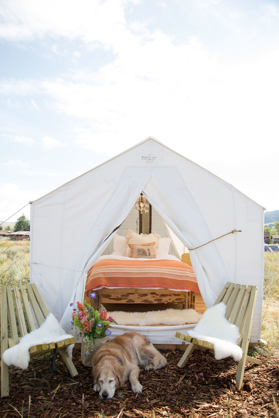 Dom - namiot w stylu glamour - wystrój wnętrz, wnętrza, urządzanie mieszkania, dom, home decor, dekoracje, aranżacje, styl rustykalny, styl glamour, namiot