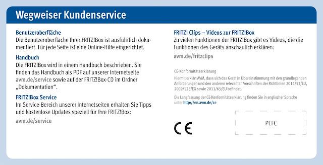 Bedienungsanleitung Handbuch AVM FRITZ!Box 7490 WLAN AC + N Router