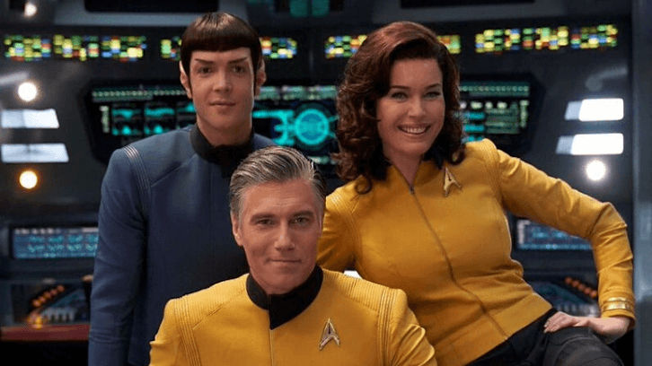 Star Trek: Strange New Worlds - Ordered to Series at CBS All Access + Announcement Video + Full Press Release