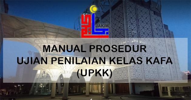 Manual Prosedur Ujian Penilaian Kelas KAFA (UPKK)