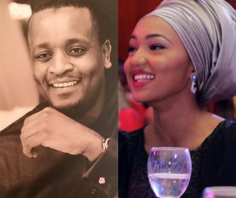 Photo: Zahra Buhari's fiance Ahmed Indimi had $100m in his account as of 2013 (he shared it)