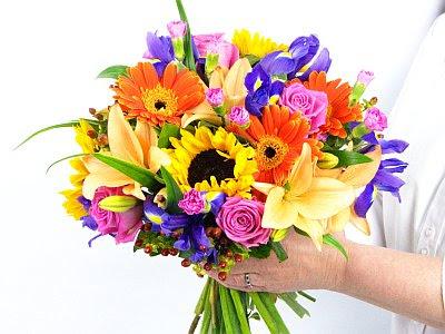 summer flower summer flower bouquets. Black Bedroom Furniture Sets. Home Design Ideas