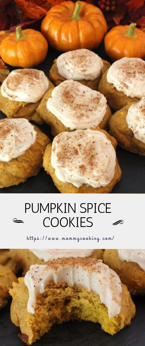 PUMPKIN SPICE COOKIES #cookies #dessert