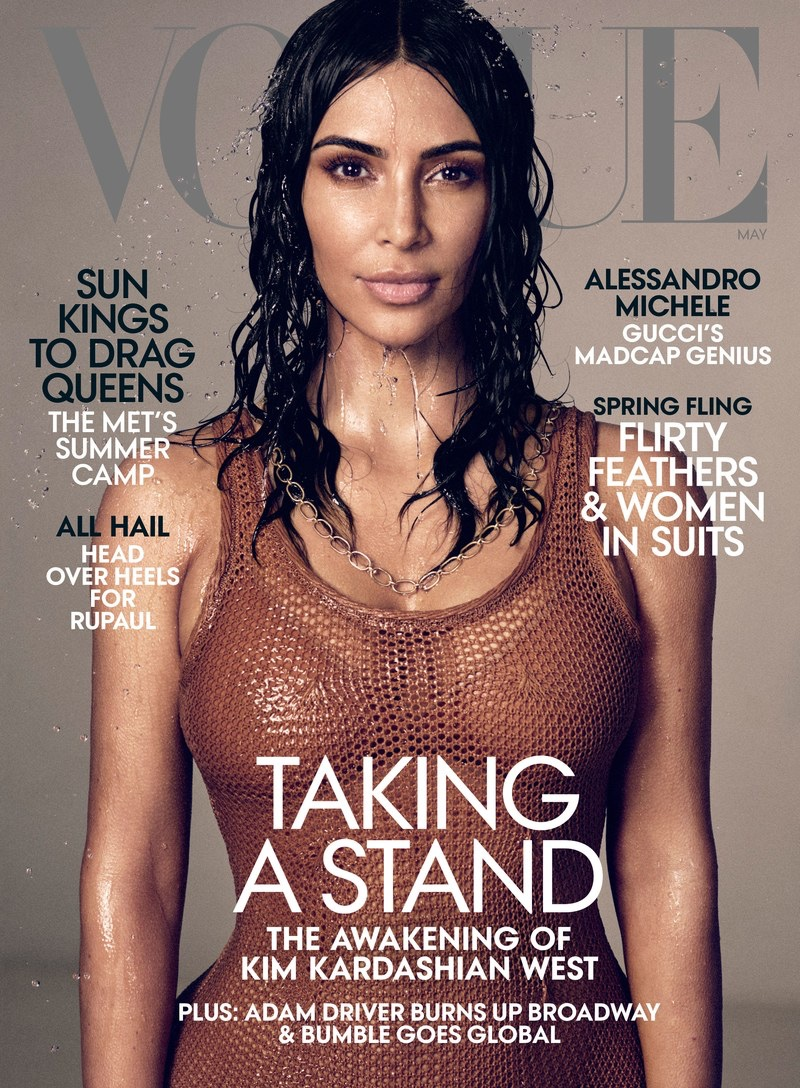 Kim Kardashian for Vogue US May 2019